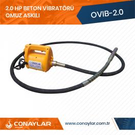 Omuz Askılı Beton Vibratörü 2.0HP (220V)