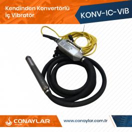 Kendinden Konvertörlü İç Vibratör (İnvertör) 60mm Şişe 2.0HP (220V)
