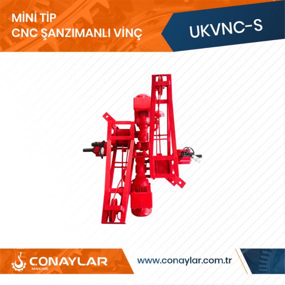 Cnc Şanzımanlı İnşaat Dam Vinci 2.0HP (380V)