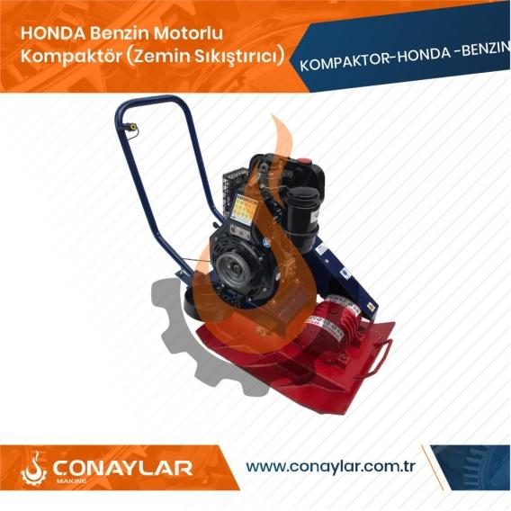 2000KG Darbeli Honda Benzin Motorlu Kompaktör (Zemin Sıkıştırıcı) 6.5HP