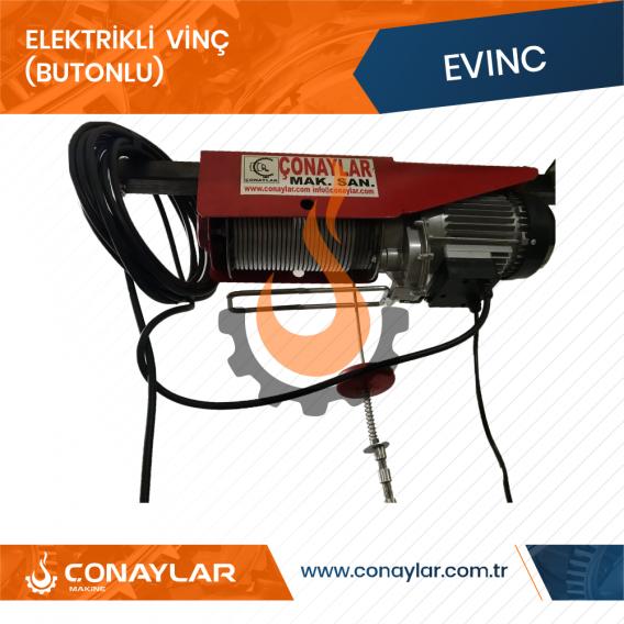 Elektrikli Butonlu Vinç (220V)