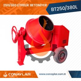 250/380 Litrelik Betoniyer Dizel Motorlu