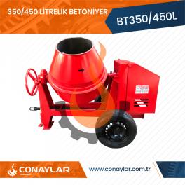350/450 Litrelik Betoniyer Dizel Motorlu