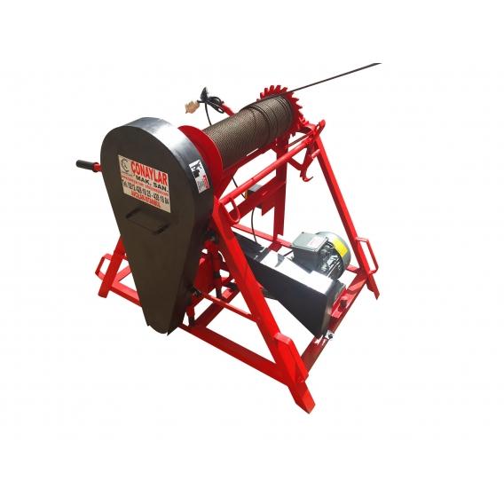 Yerden Kumandalı Kayışlı Gırgır Vinç 5.5HP (380V)