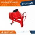 125 Litrelik Betoniyer 0.75HP (220V)