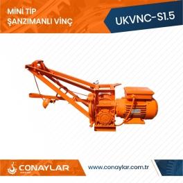 Cnc Redüktörlü İnşaat Dam Vinci 1.5HP (220V)