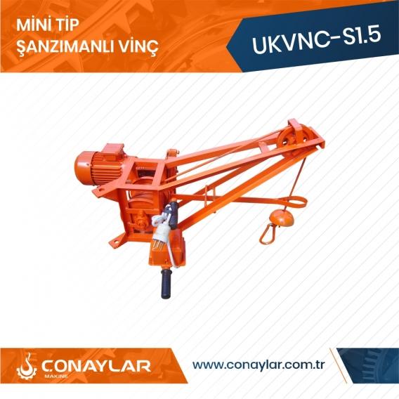 Mini Tip Cnc Şanzımanlı Asansör Vinci
