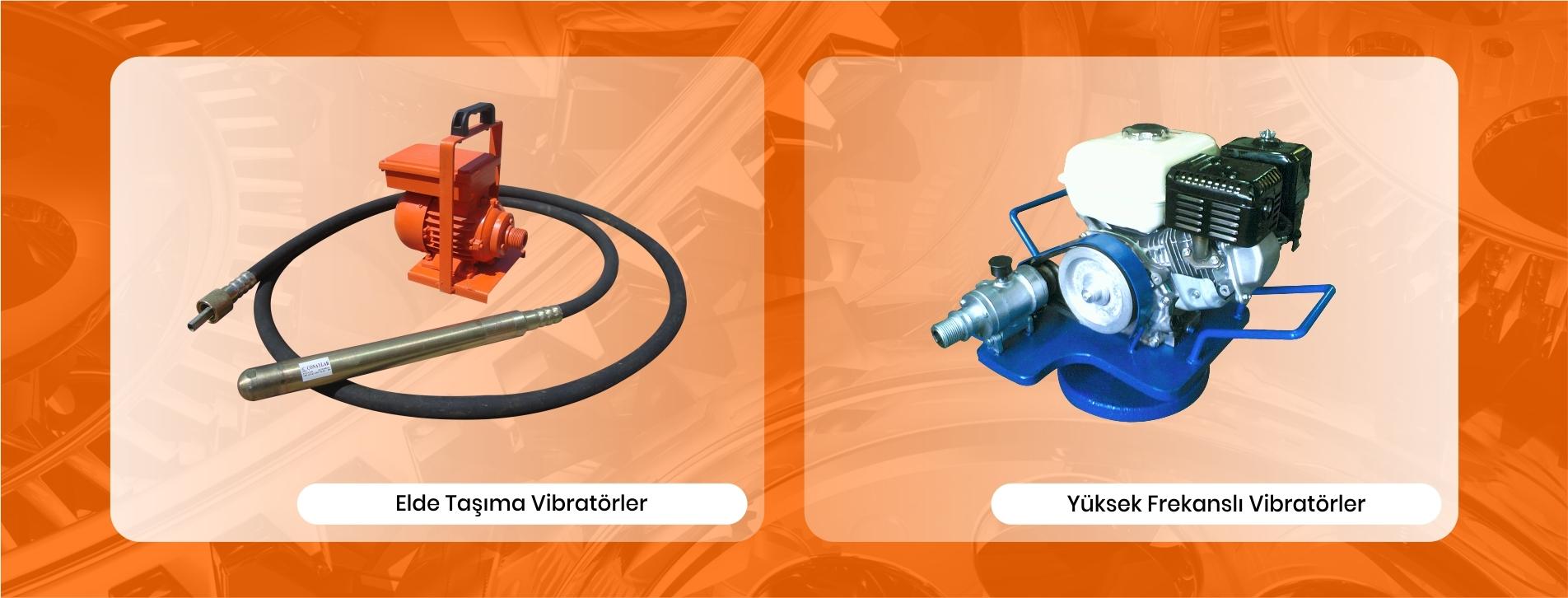 Beton Vibratörleri